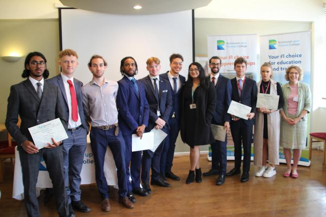 On Wednesday 26 June, Richmond upon Thames College's (RuTC) Engineering students were celebrated at the annual Engineering Construction Industry Training Board (ECITB) Awards.