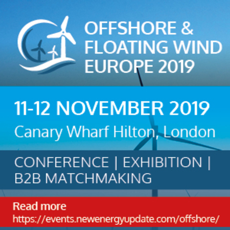 Offshore and Floating Wind Europe 2019 (11-12 Nov) co-located with ITES