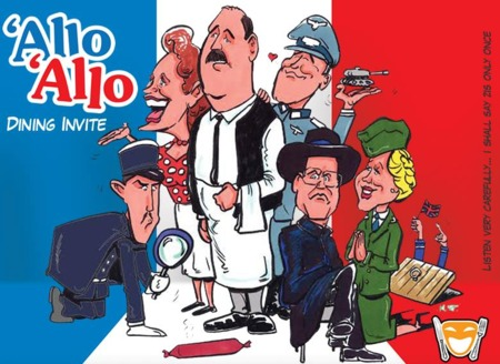 Allo Allo Dinner Show - Orpington Golf Centre 13th September