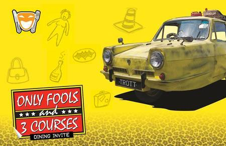 Only Fools and 3 Courses - Lakeside International Hotel 14th September