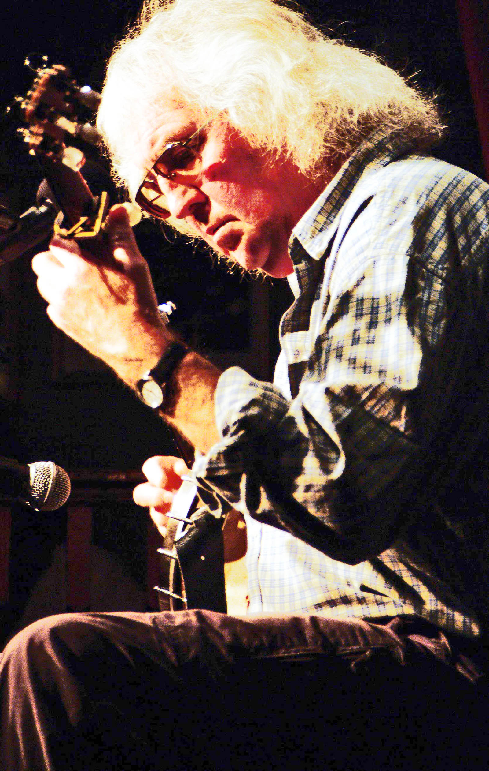 Wizz Jones at Croydon Folk Club on Monday Night, 25th November, 8:15