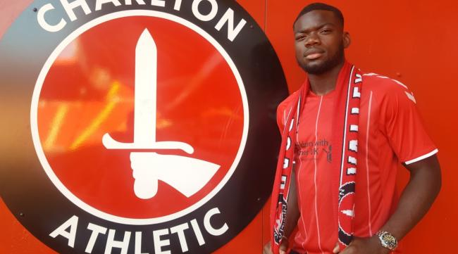 Deji Oshilaja. Picture: Charlton Athletic