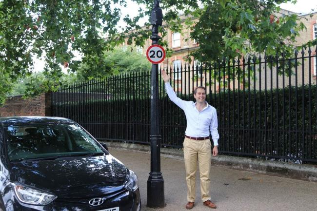 Residents will notice 20mph signage across areas where the scheme applies.