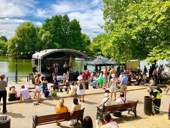 Richmond Riverside will be rocked by VistRichmond's Bank Holiday Weekend music festival.