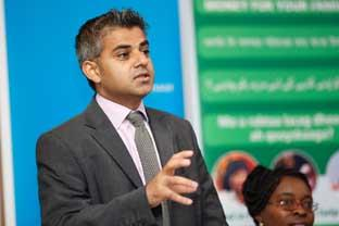 "Richmond and Twickenham Times: ""No race problem"" . . . Tooting MP Sadiq Khan"
