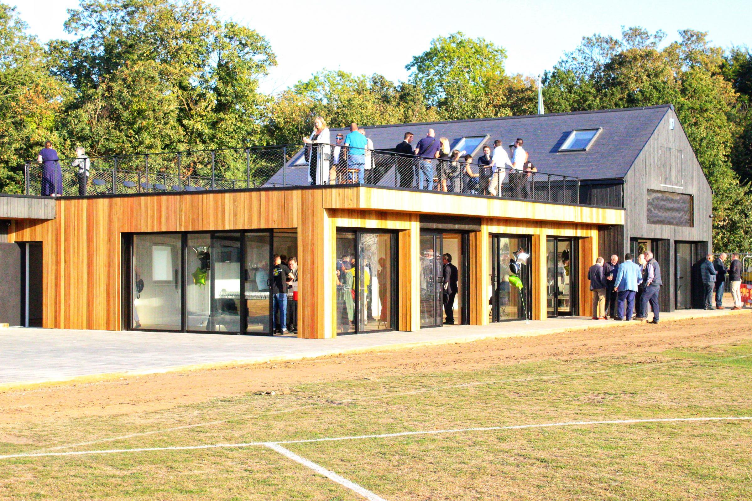 Teddingtons New Pavilion Finally Unveiled In Bushy Park