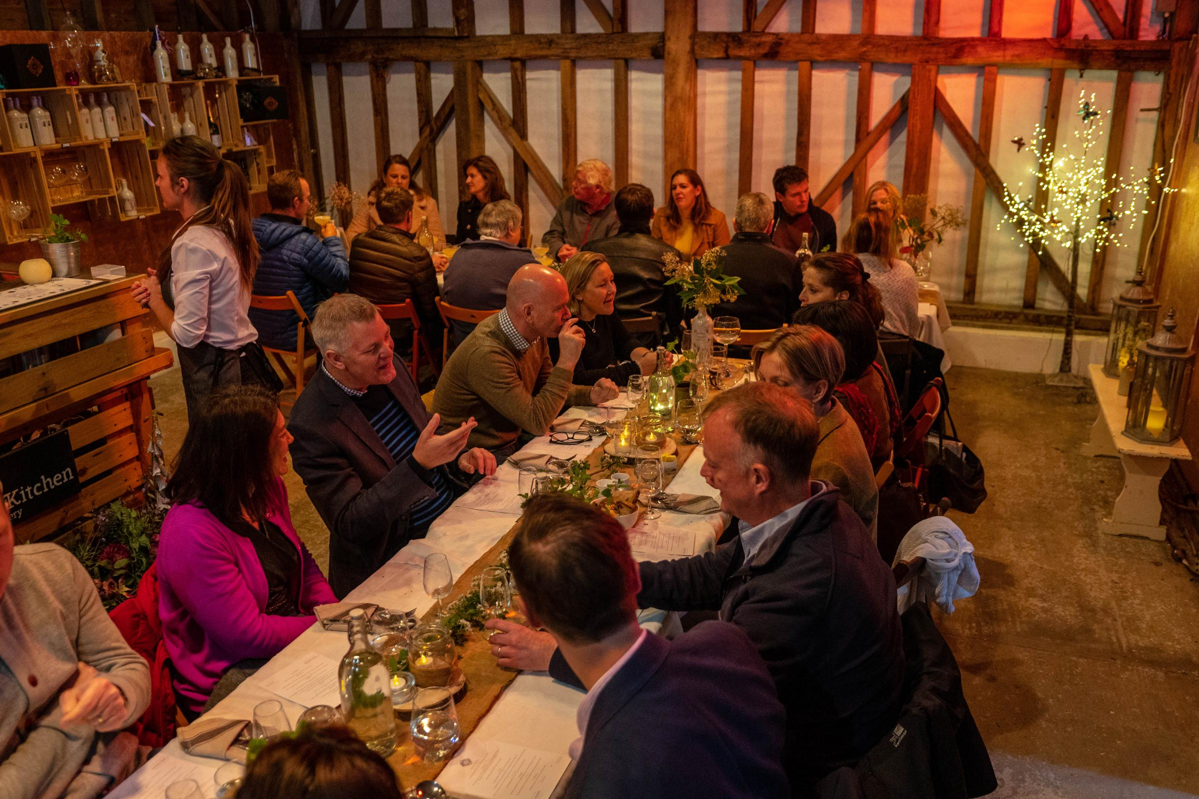 Winter Supper at The Gin Kitchen