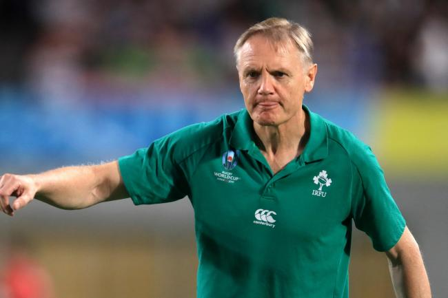Joe Schmidt is focusing on rugby matters