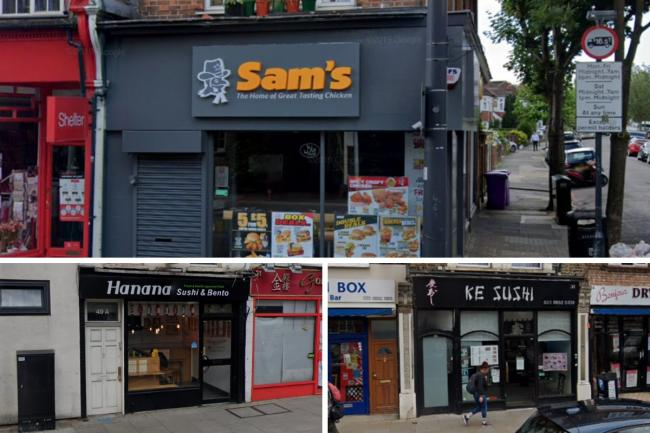 These three Richmond takeaways have received poor food hygiene ratings