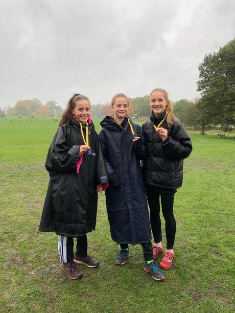 Richmond and Twickenham Times: Hercules Wimbledon's silver medal-winning under 15 girls team