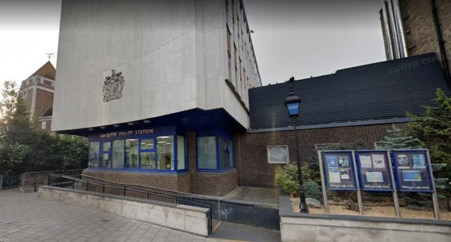 Kingston Police Station, part of the South West Basic Command Unit. Credit - Google earth. Free for use by partners