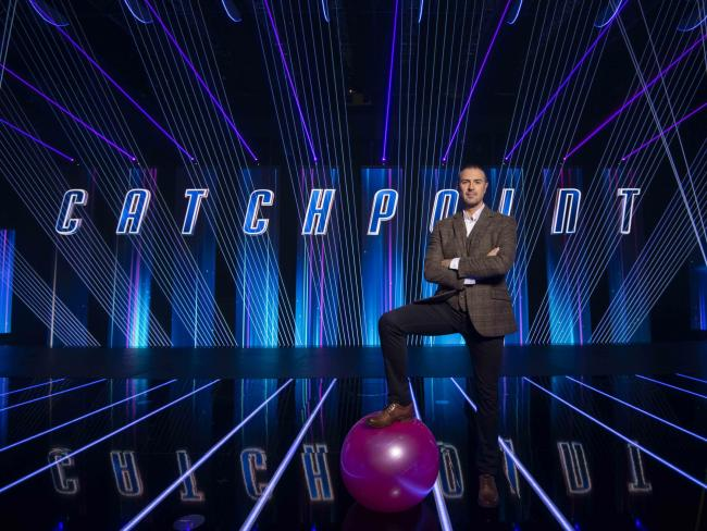 Paddy McGuiness will be presenting the BBC's newest game show 'Catchpoint.'