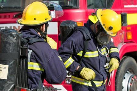 Firefighters atteneded a house fire that took place in Hounslow.