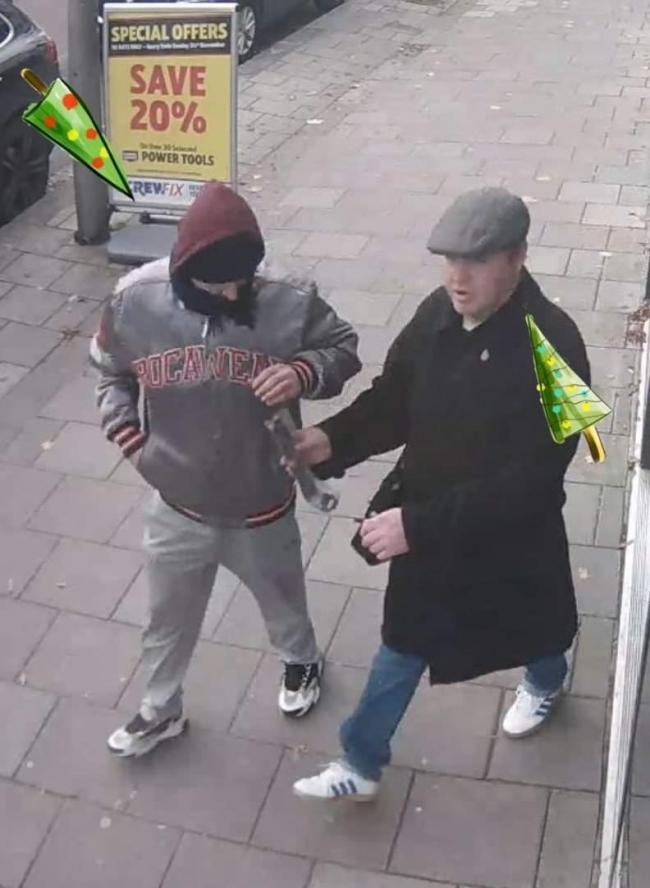 Police want to speak with these two men