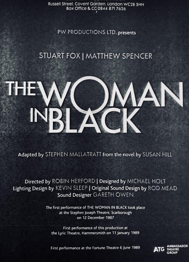 The Woman in Black - a must see show for 2020 theatre lovers