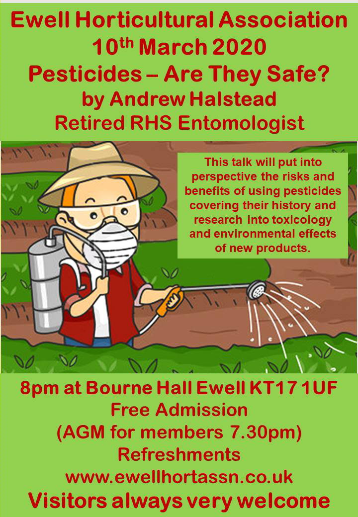 A talk about Pesticides - are they safe?