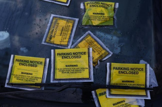 New rules on parking fines.