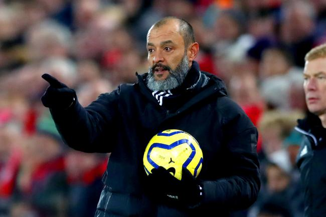Wolves manager Nuno Espirito Santo takes his squad to Old Trafford on Wednesday