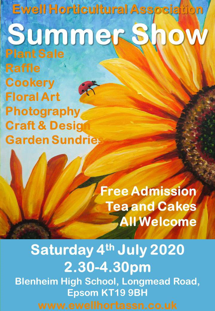 Ewell Horticultural Association's Summer Show