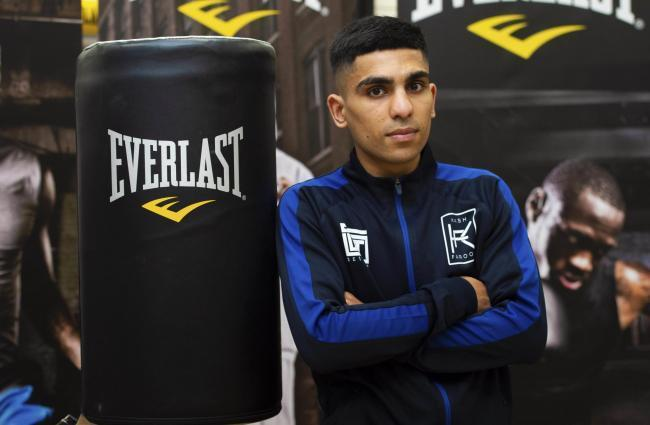 Kash Farooq is set to do battle in Newcastle on April 4