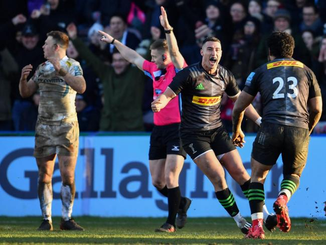 Gustard admits toppling Exeter was one of his most important wins at Quins