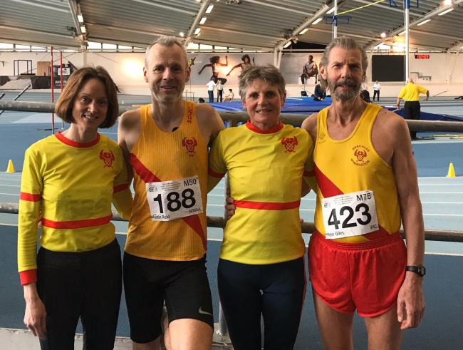 Hercules Wimbledon Athletic Club shine at British Masters