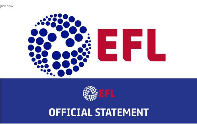 EFL confirm intentions to deliver 'successful conclusion' to 2019/20 season