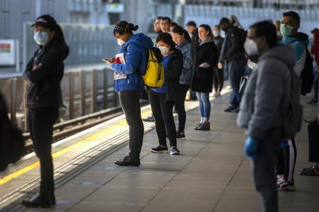 Commuters were told to return to work