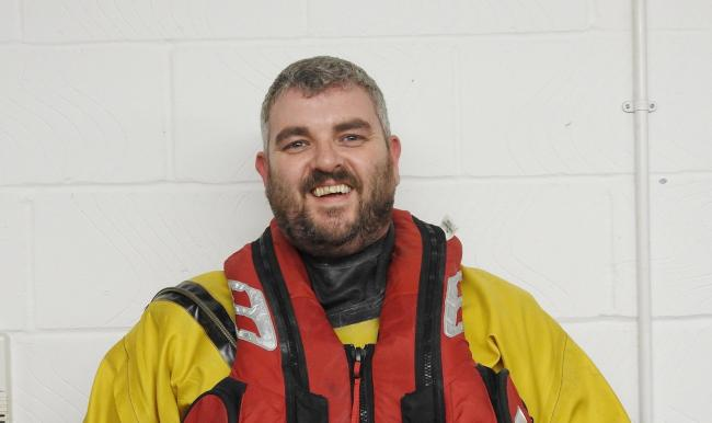 It was the Ray Searles' first shout with Teddington RNLI