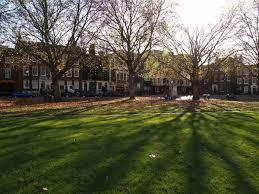 Richmond Green, where police were forced to disperse a group of over 100 people on Saturday night, June 20. Residents are being encouraged by the Met Police to report gatherings and anti-social behaviour.