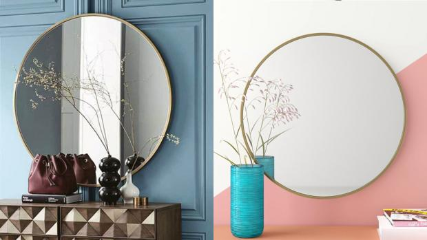 Richmond and Twickenham Times: A bigger, more modern mirror will create the illusion of more space. Credit: Wayfair