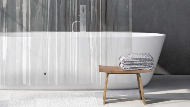 Richmond and Twickenham Times: A clean shower liner will make your bathroom much more welcoming. Credit: Amazon