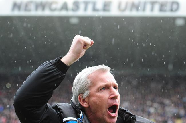 Alan Pardew led Newcastle to fifth place in the 2011/12 season