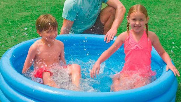 Richmond and Twickenham Times: Lower your body temp with this inflatable pool. Credit: Intex