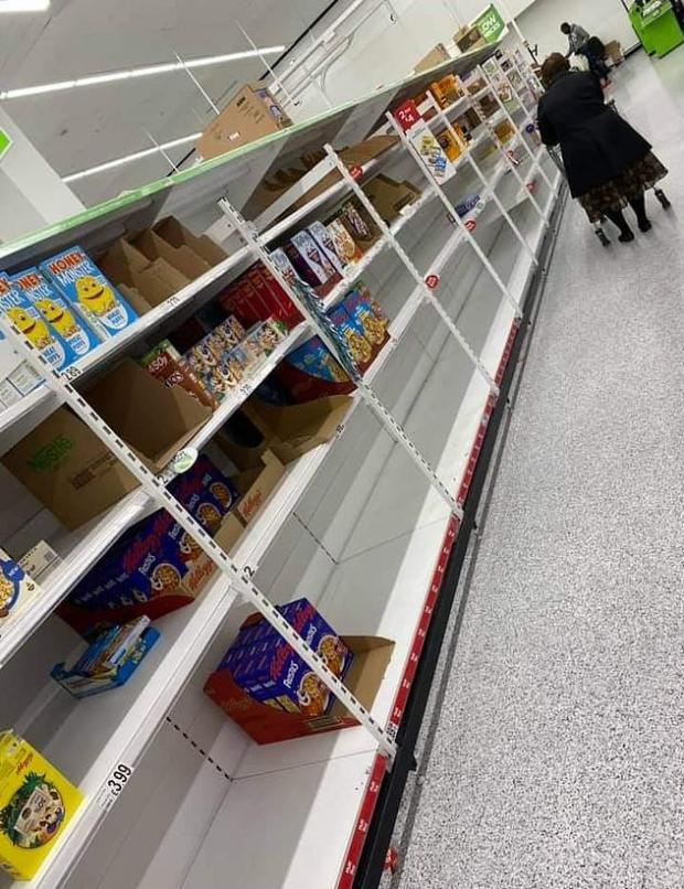Richmond and Twickenham Times: A picture taken at ASDA in London over the weekend
