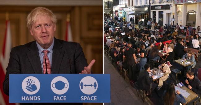 Boris Johnson admitted the Eat Out scheme could have helped spread coronavirus