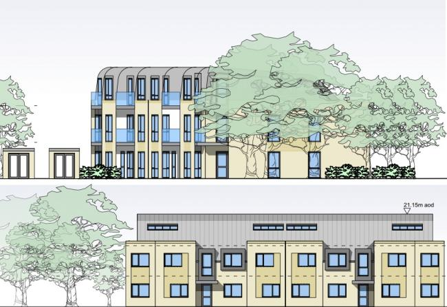 Preview images of proposed development submitted on the Richmond Council website.