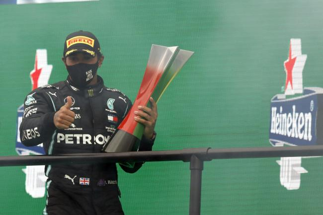 Lewis Hamilton set a new F1 record on Sunday