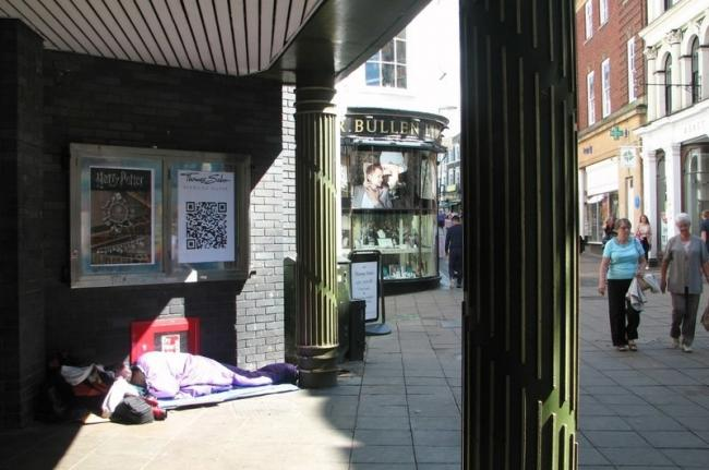The death represented the second of a man experiencing homelessness linked to Kingston this month. Image: © Copyright Evelyn Simak