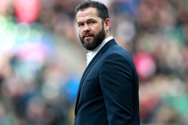 Andy Farrell has had a mixed first year as Ireland head coach