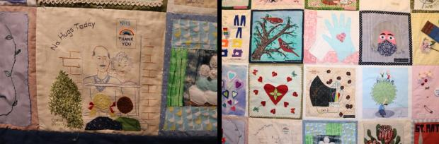 Richmond and Twickenham Times: Lockdown quilt
