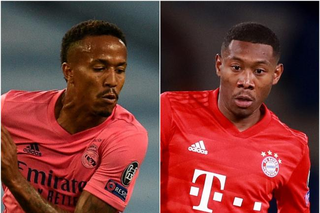 Eder Militao and David Alaba