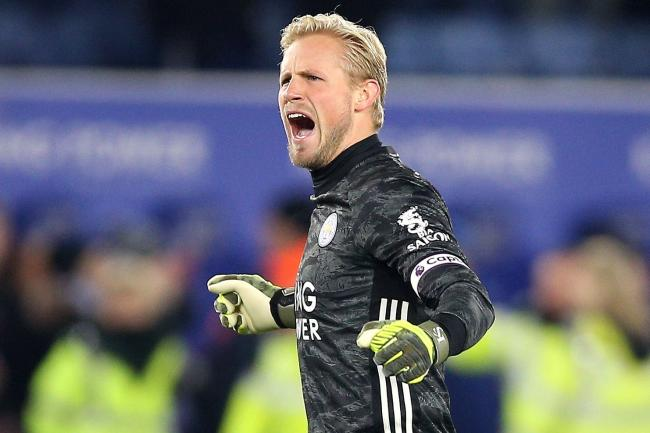 Leicester goalkeeper Kasper Schmeichel is set to make his 400th appearance for the club on Saturday.