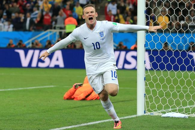Wayne Rooney celebrates one of his 53 England goals