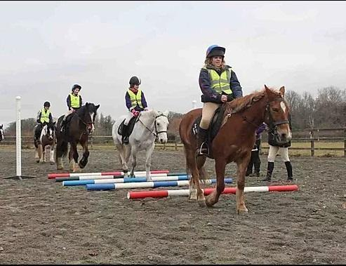 Riders from Park Lane Stables, Teddington