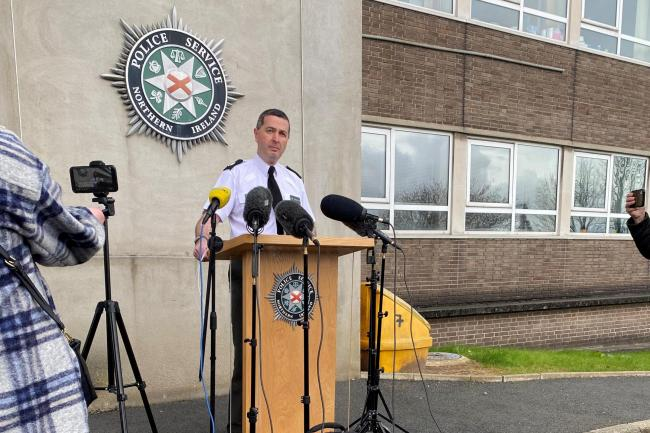 PSNI Assistant Chief Constable Jonathan Roberts