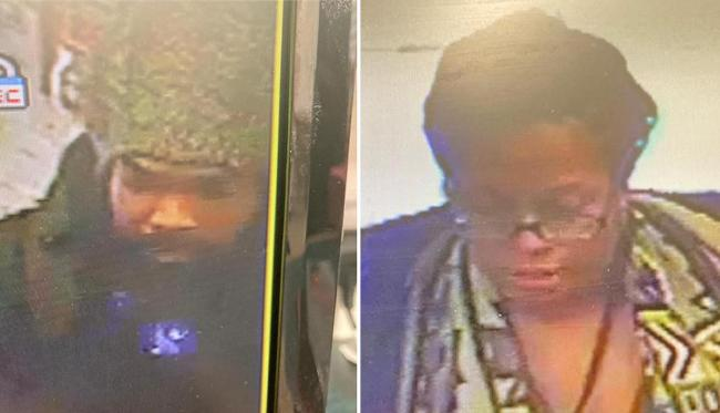 Image from Met Police of Machel (left) and Azara Graham
