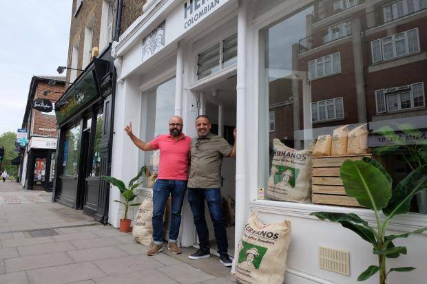 Richmond and Twickenham Times: Hermanos Colombian Coffee Roasters has opened in Barnes high street