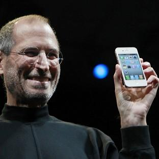 Richmond and Twickenham Times: Apple CEO Steve Jobs with the new iPhone at the Apple Worldwide Developers Conference in San Francisco
