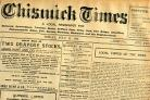 Historic: The Chiswick Times from 1910